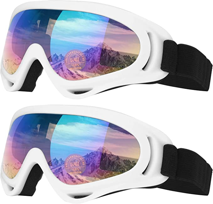 Ski Goggles, Motorcycle Goggles, Snowboard Goggles for Men Women