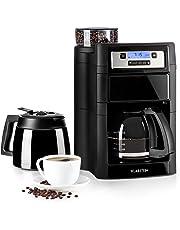 Klarstein Aromatica X II Duo máquina de café con molino • Máquina de café con filtro