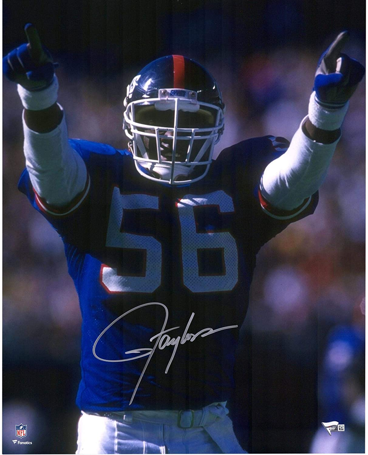 48fb39cf5 Lawrence Taylor New York Giants Autographed 16   x 20   Hands Up Photograph  - Fanatics Authentic Certified at Amazon s Sports Collectibles Store