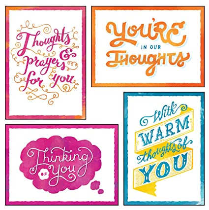 Amazon 12 boxed thinking of you greeting cards thoughts of 12 boxed thinking of you greeting cards thoughts of you kjv scripture included in m4hsunfo