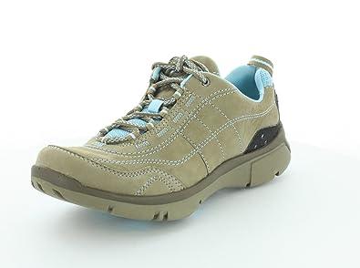 Clarks Womens Luminate Path Sneaker Beige Size 7