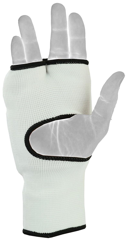 /x EMRAH Cotone Elasticizzato Guanti da Karate Arti Marziali bendaggi Boxe MMA Guanti Interni Open Finger Muay Thai Fist Imbottito Guanti da Karate/