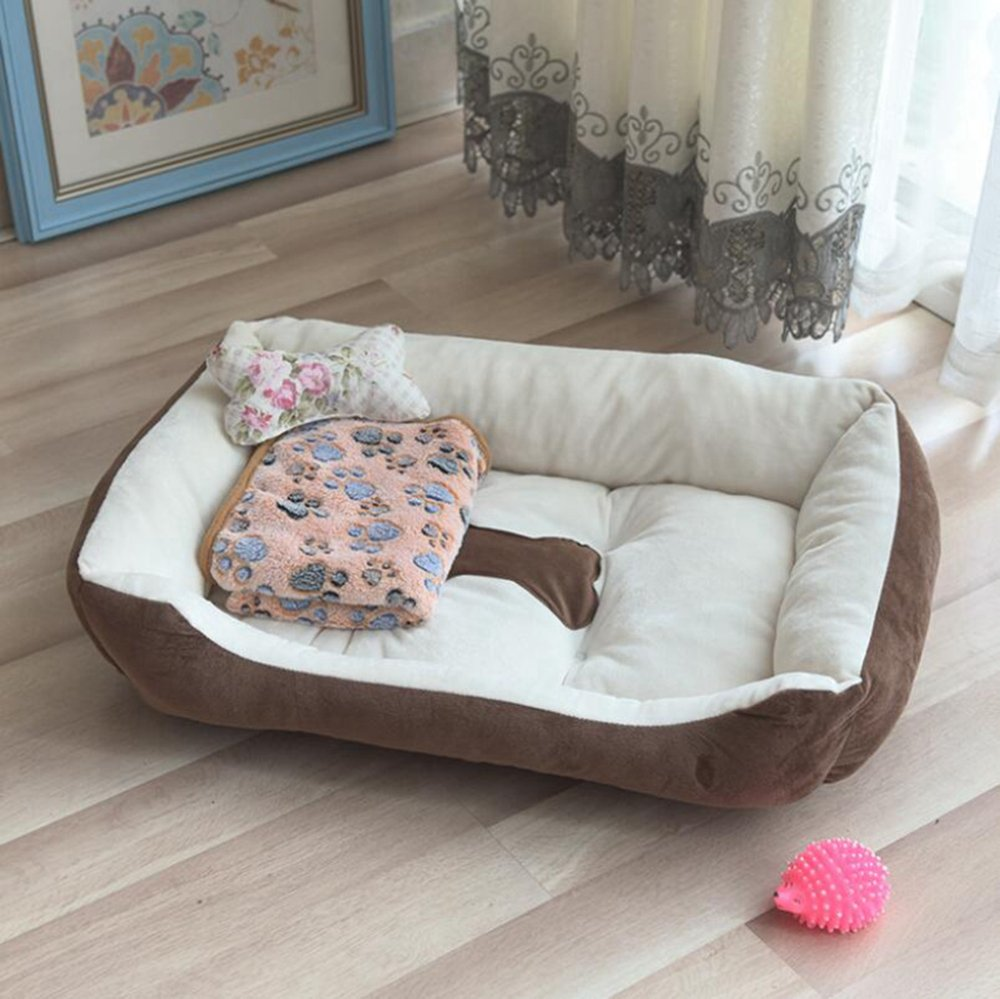 D 50x40cm D 50x40cm Dixinla Pet Bed Four Seasons Cushion Kennel Indoor Pet Nest