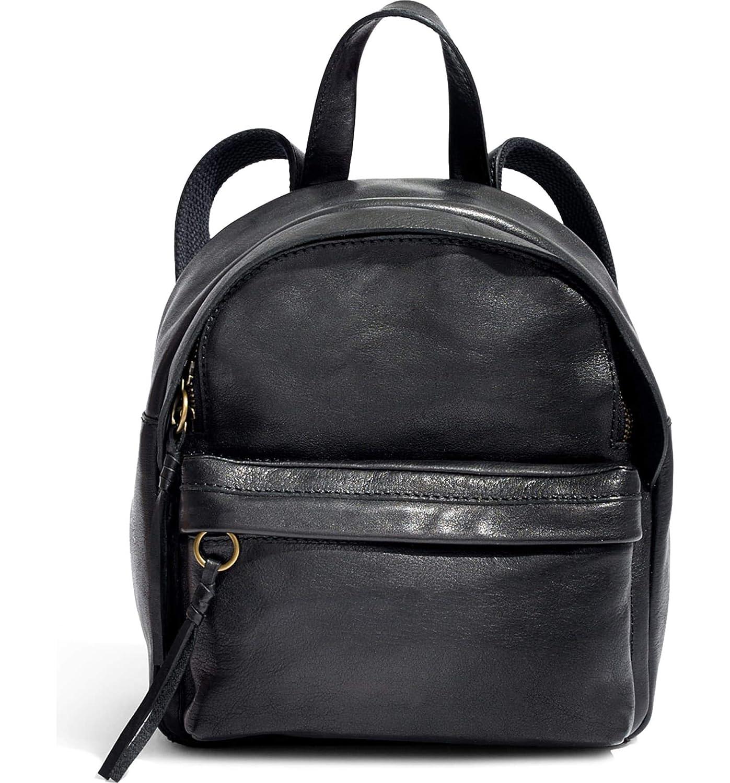 [メイドウェル] レディース バックパックリュックサック Madewell Mini Lorimer Leather Backpack [並行輸入品] B07DRG28JS  One-Size