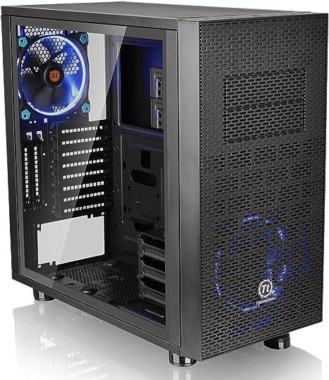 Thermaltake Core X31 TG Edition Midi-Tower Negro - Caja de Ordenador: Amazon.es: Informática