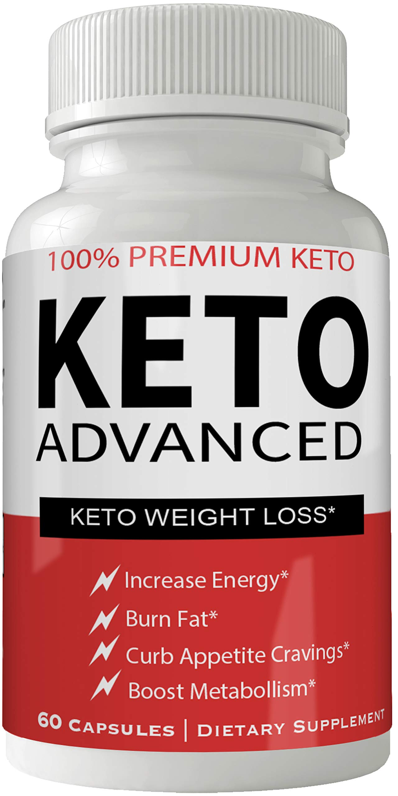 Pastillas Keto para Bajar de Peso Adelgazar Rapido y Quitar Apetito | Appetite Suppressant with Ultra Advanced Natural Ketogenic Capsules to Boost Metabolism, Energy and Focus