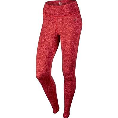 Nike Legend Poly Spacdye Tight Collant pour femme Rouge noir Taille ... 879edd81259