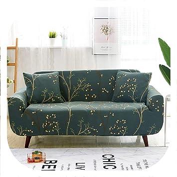 Amazon.com: Funda de sofá elástica para sofá, sofá, sofá ...