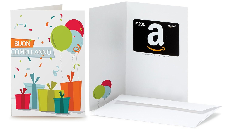 Buono Regalo Amazon.it in un biglietto d'auguri - Spedizione gratuita in 1 giorno Buoni Regalo Amazon.it
