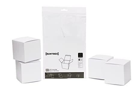 classic style good out x new authentic Amazon.com : Buntbox Medium Cube Box, 4X Colour Cube M Set ...