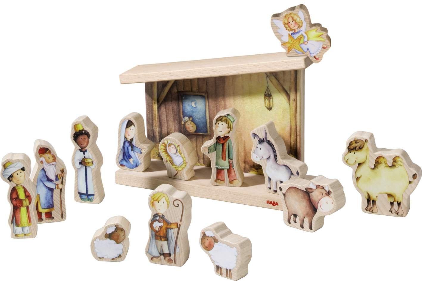 HABA 5296 - Spielkrippe - Weihnachtsgeschichte