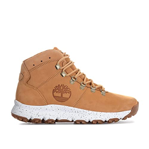 Timberland World Hommes Wheat Hiker Mid Bottes: