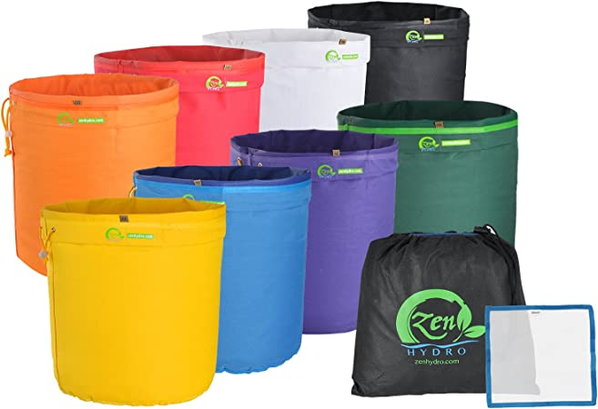 Grow1 Extraction Bags 20 Gallon 5 Bag Kit Herbal Extract Bubble ICE BAY HYDRO
