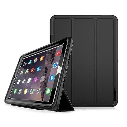 reputable site c5aba f4114 iPad 6th Generation Cases,iPad 9.7 Case,iPad 2018/2017 Case,Slim Heavy Duty  Shockproof Rugged Case Hard PC+Silicone Hybrid High Impact Full Body ...