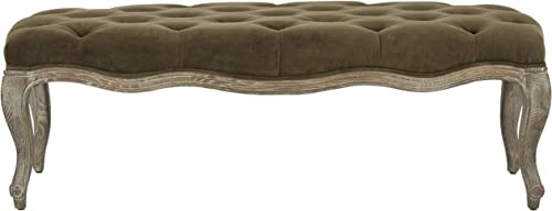 Safavieh Mercer Collection Ramsey Bench, Spruce