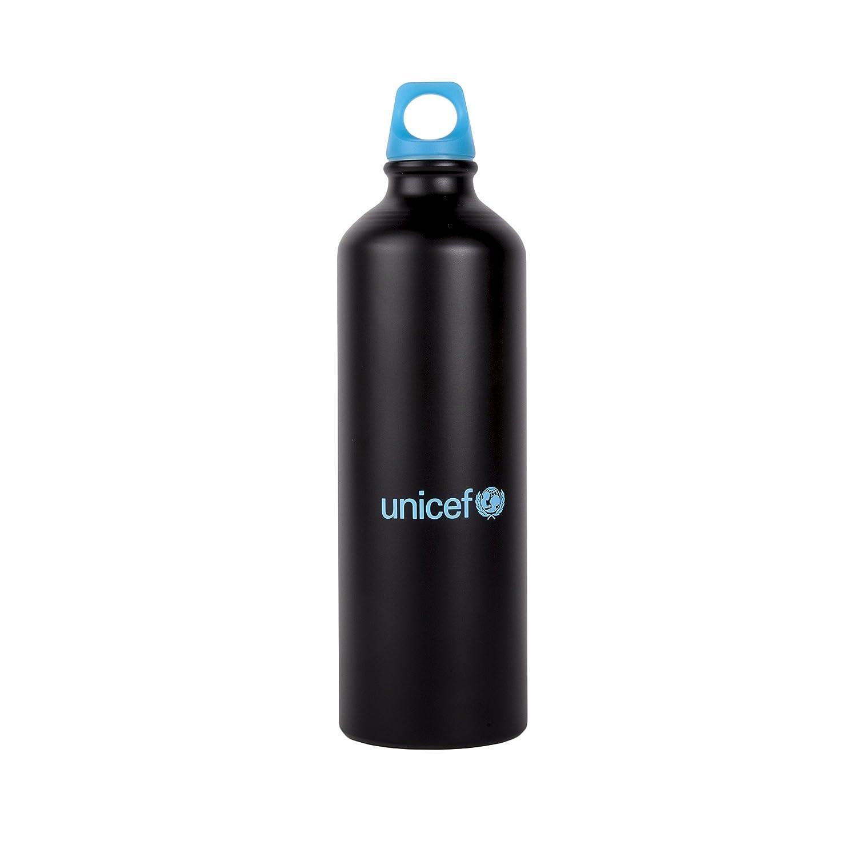 Unicef Botella, Negro, Ú nica Única Forletter ED17013458zz