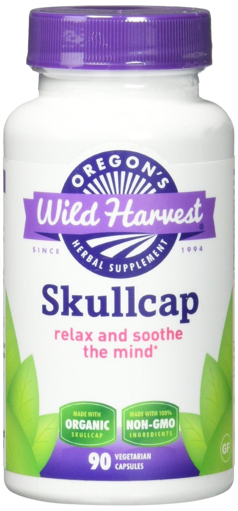 Oregon's Wild Harvest Skullcap Organic Supplement, 90 Count