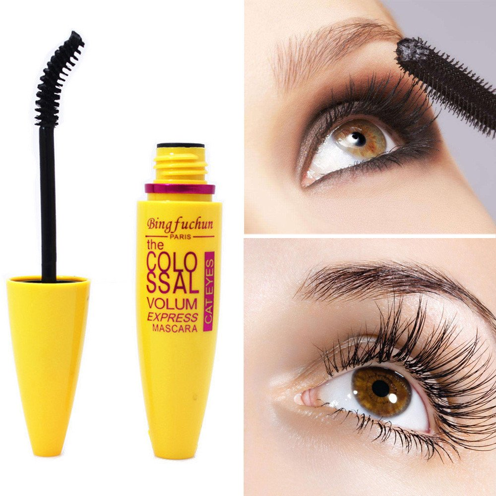 Amazon.com : YJYdada Cosmetic Black Mascara Makeup Eyelash Waterproof Extension Curling Eye Lashes (Blue) : Beauty