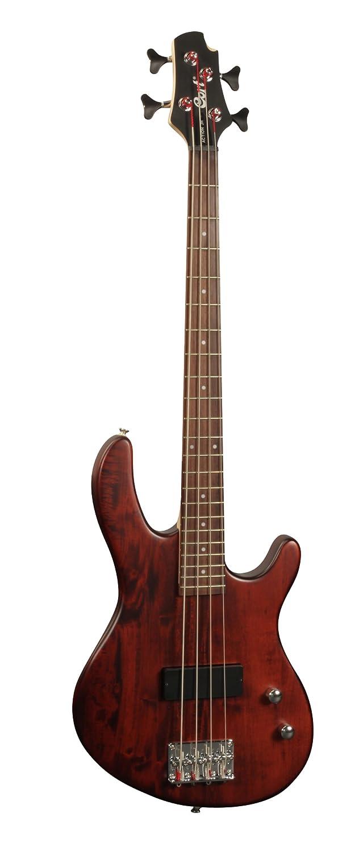 Cort E-Bass Action Junior - Guitarra eléctrica infantil (calibre de cuerdas: 45-105, madera de nogal), mate satinado: Amazon.es: Instrumentos musicales