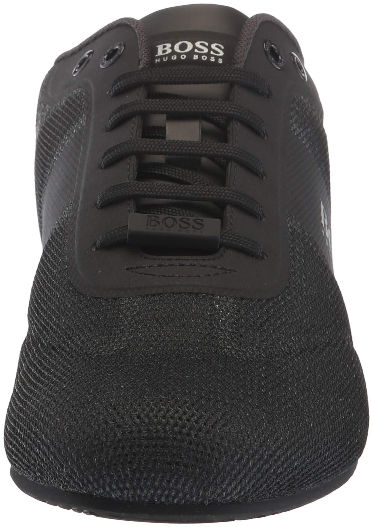 Hugo Boss BOSS Green Men's Lighter Low Mesh Sneaker, Black 8 Medium US by Hugo Boss (Image #4)