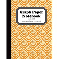 Graph Paper Notebook: Graph paper pages and White Paper   Squared Graphing Paper   Quad Ruled   5 squares per inch   100 pages   8.5 x 11 in. (graphing notebook)