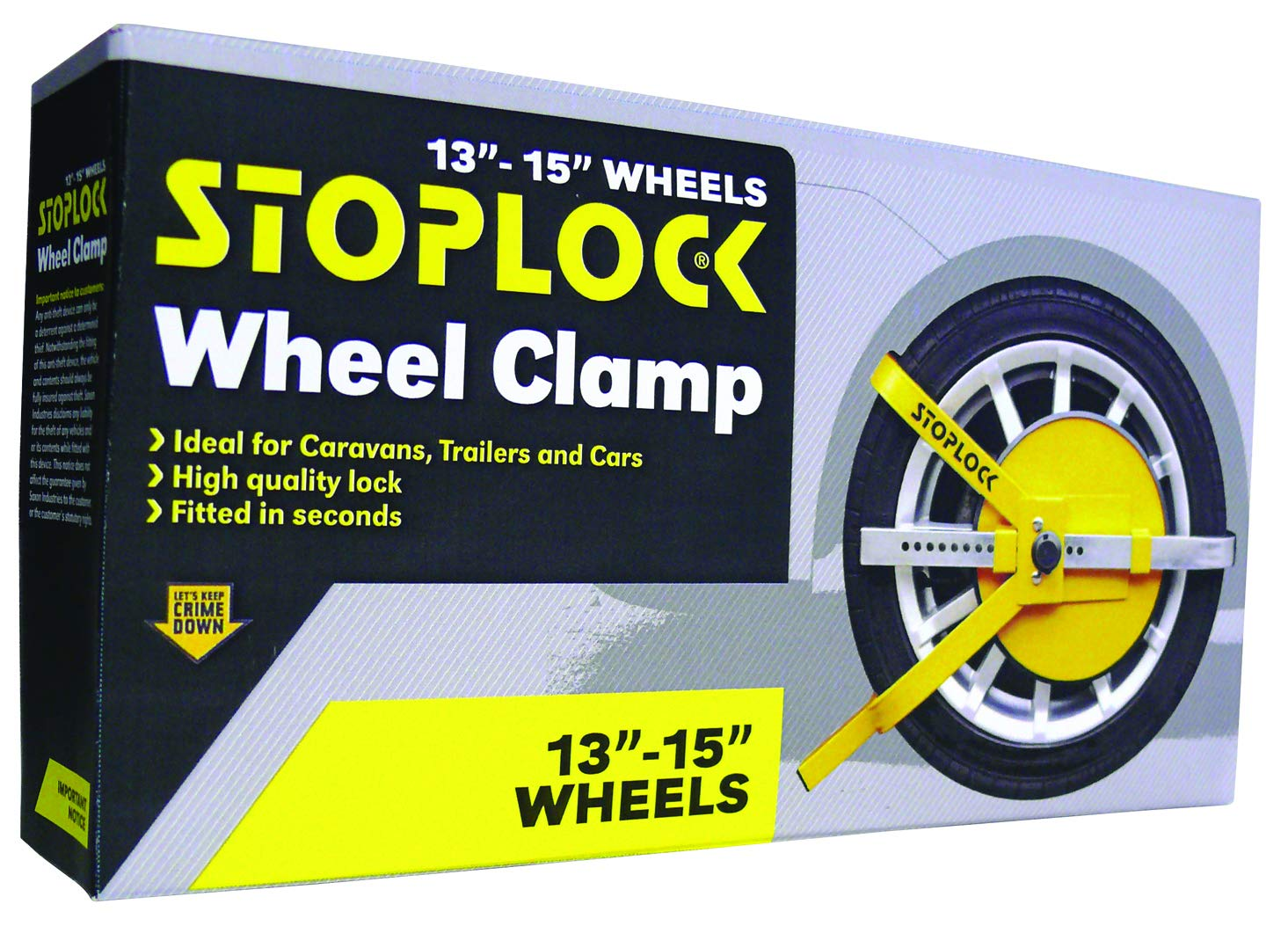 Stoplock HG 150 00/Lenkradsperre Pro Elite