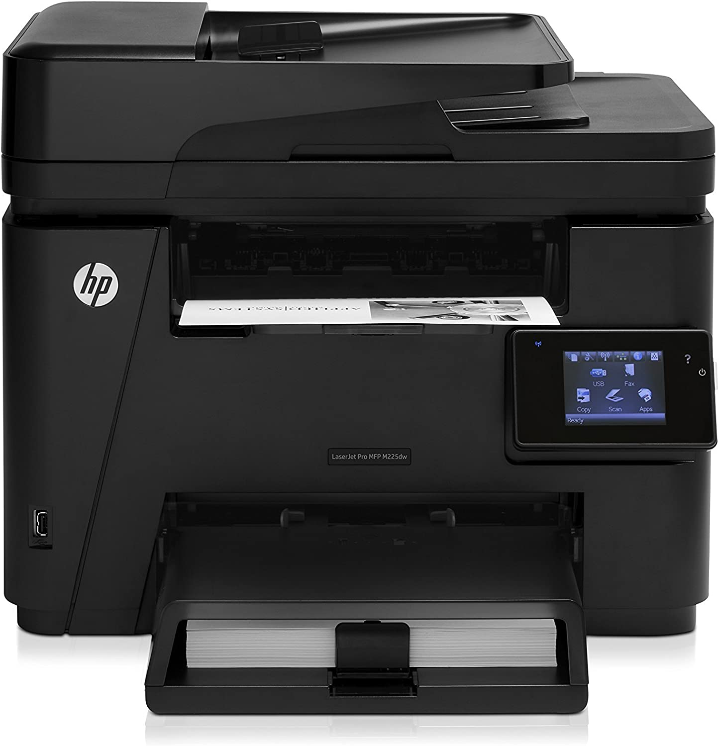 HP Laserjet Pro M225dw Wireless Monochrome Printer with Scanner, Copier and Fax, Amazon Dash Replenishment Ready (CF485A) (Renewed)