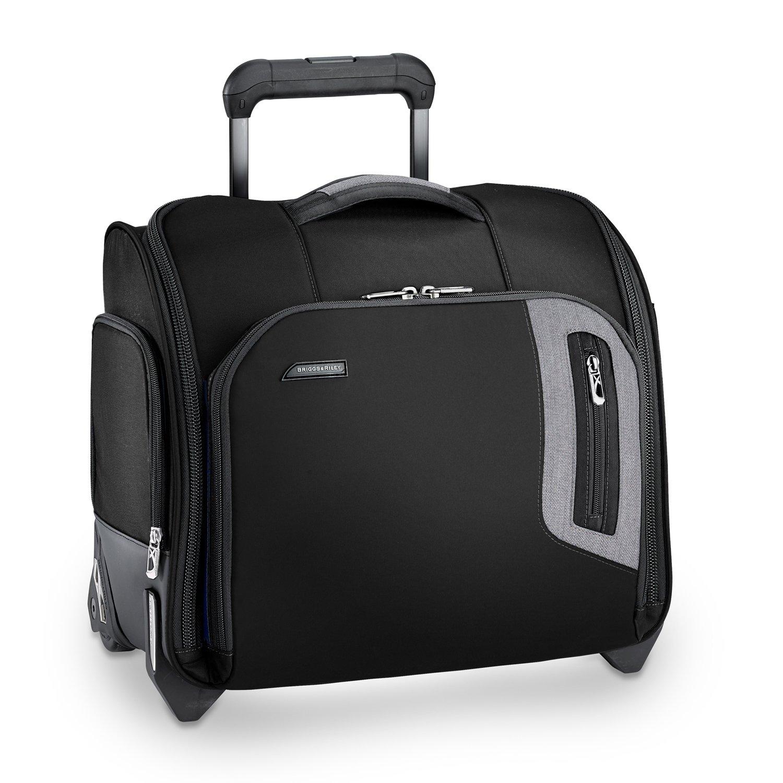 d13c19e65 Amazon.com | Briggs & Riley Brx Rolling Cabin Bag, Black | Carry-Ons