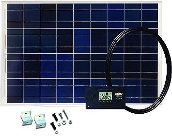 GP-RV-160 160-Watt Solar Kit with 25 Amp Digital Regulator Go Power