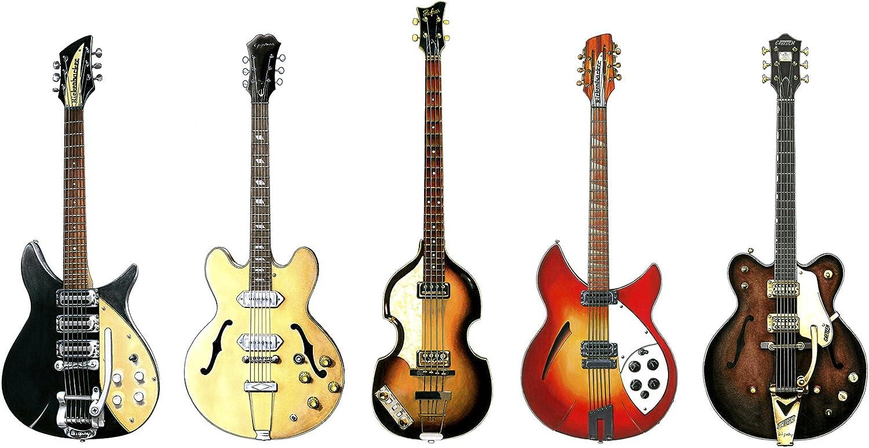 George Morgan Illustration Las Guitarras de los Beatles ...