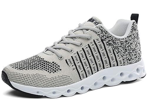 GJRRX Zapatillas para Hombres Ligeros Zapatilla de Deporte Zapatillas Ligeras Transpirables para Caminar Gimnasio de Fitness Sendero: Amazon.es: Zapatos y ...