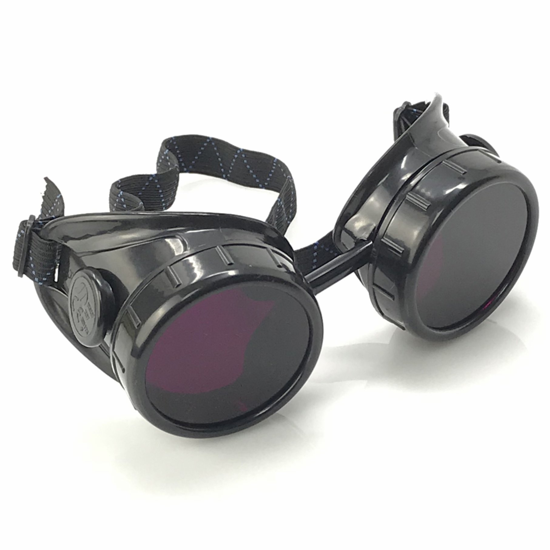umbrellalaboratory Steampunk Victorian Goggles Welding Glasses Industrial Look Sleek and Stylish