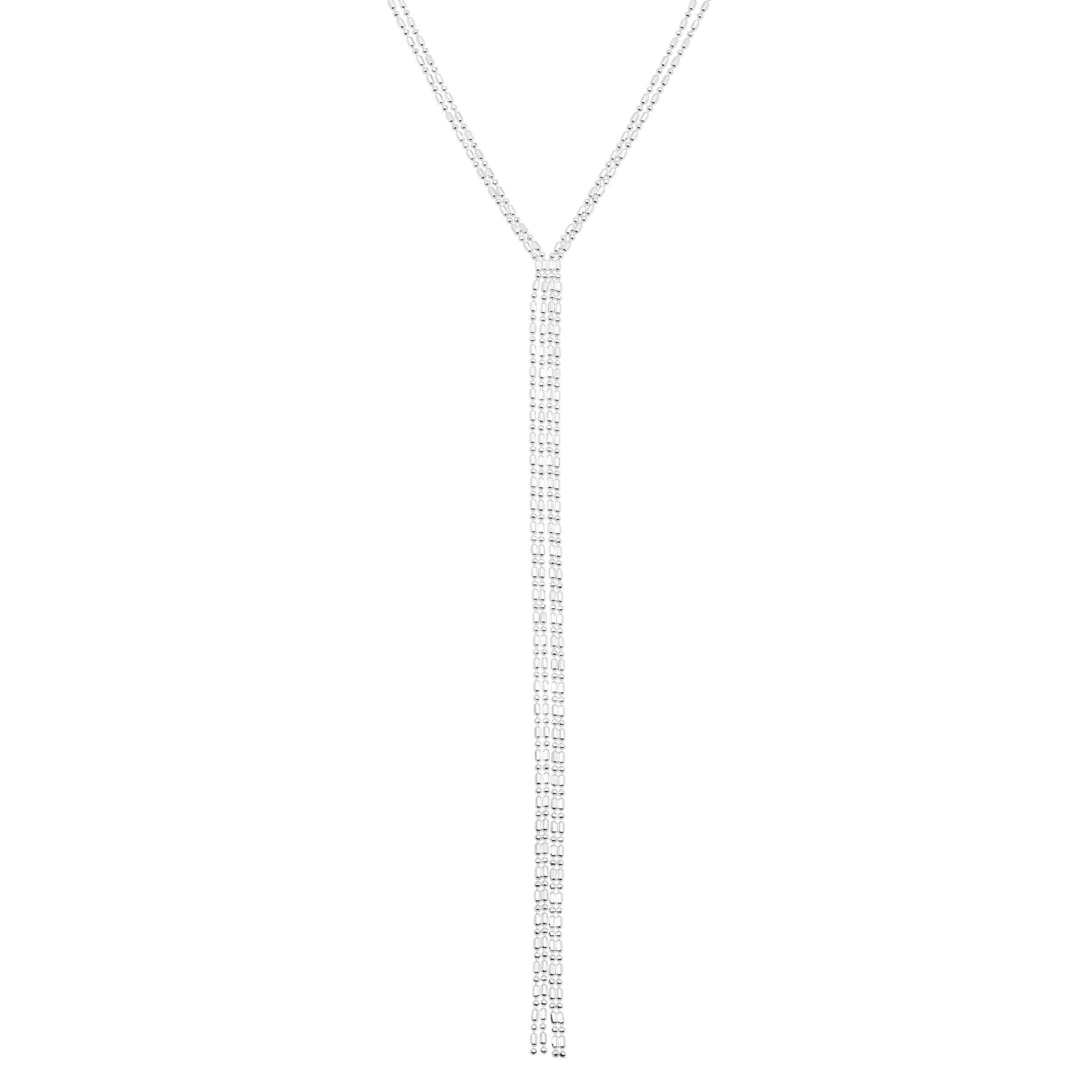 Silpada 'Tesoro' Lariat Necklace in Sterling Silver