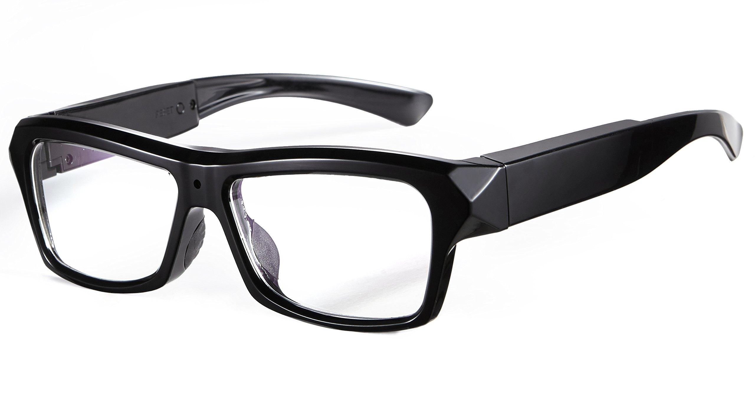Forestfish Video Camera Eyeglasses Video Recording Camera Glasses Sunglasses Camera 16GB SD Card HD 720P DVR Video Recorder by Forestfish
