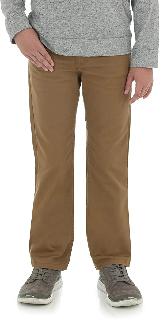 Wrangler Authentics Boys Slim Straight Twill Pant