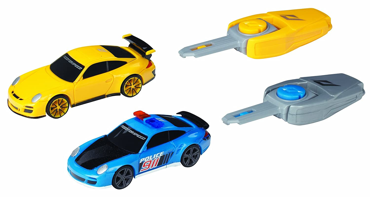 Amazon.com: Need for Speed Porsche 911 Turbo vs Porsche 911 GT3 RS: Toys & Games
