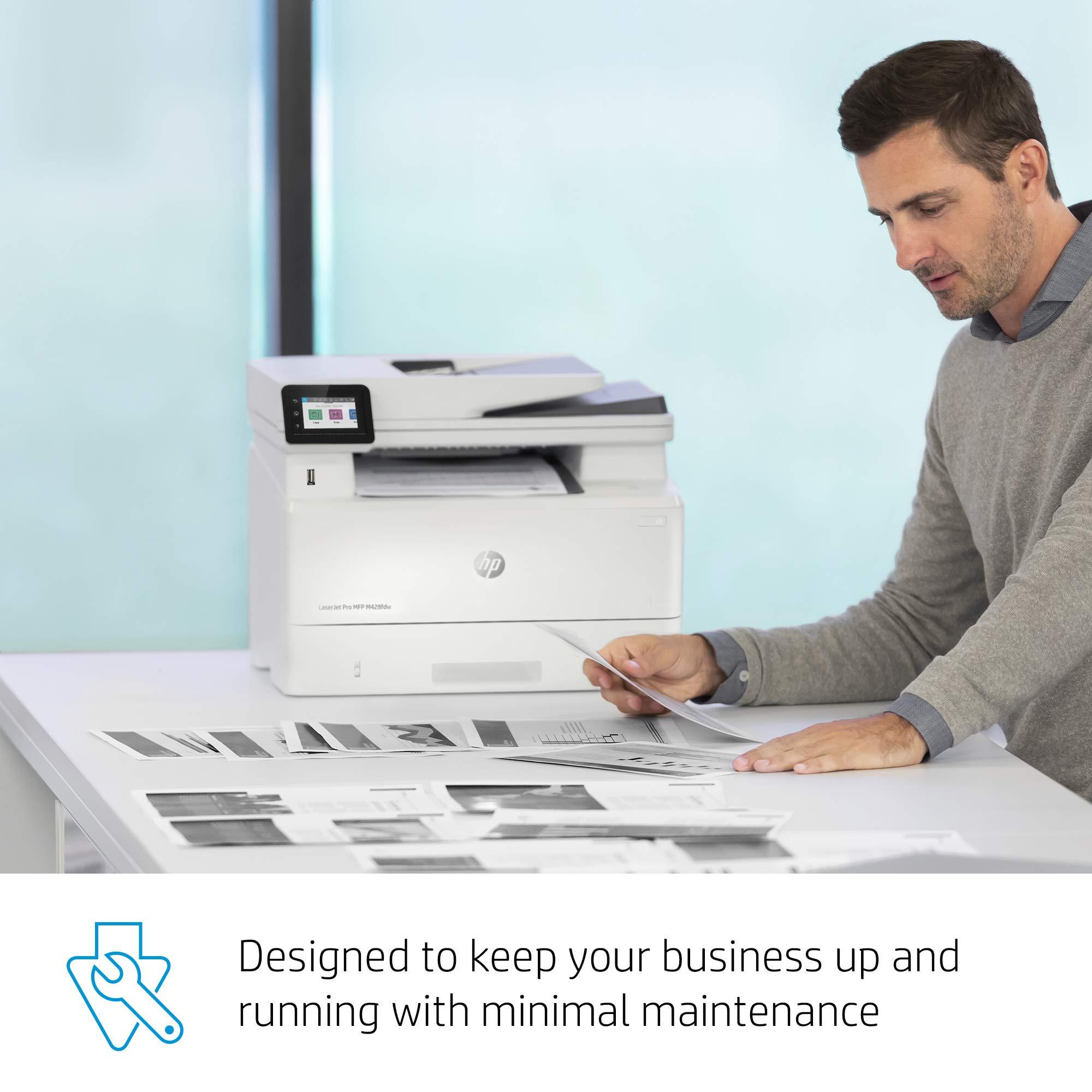 HP LaserJet Pro Multifunction M428fdw Wireless Laser Printer (W1A30A) by HP (Image #11)