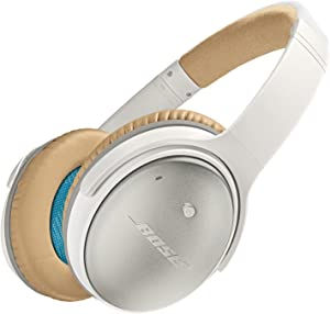 Bose QuietComfort 25 Acoustic Noise Cancelling Headphones for Apple devices - White (Wired 3.5mm)