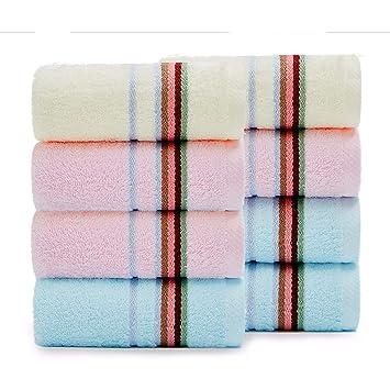 LOF-fei Toallas de Lavabo/Toallas de Mano Ducha de algodón (Paquete de