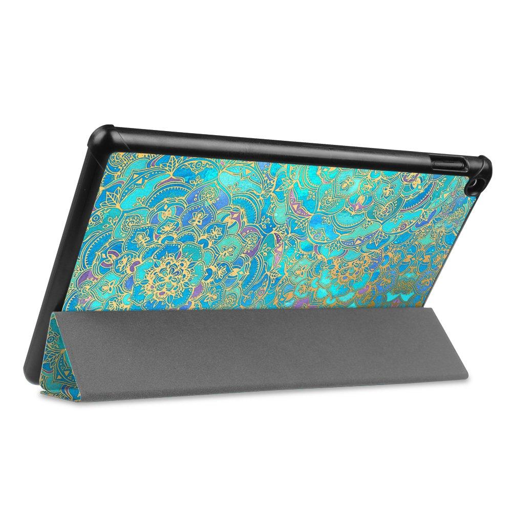 - Slim Cover Lightweight Schutzh/ülle Tasche mit Standfunktion und Auto Schlaf//Wach Funktion 9. und 7. Generation - 2019 und 2017 Fintie H/ülle f/ür Das Neue  Fire HD 10 Tablet Schwarz