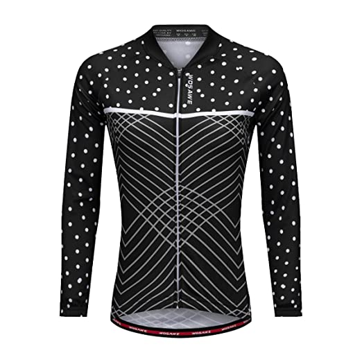 ecf9e4f2c Bill Candy Women s Breathable Long Sleeve Cycling Jersey Fast Drying Mesh  Cycling Cloting Road Mountain Biking Breathable