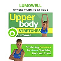 Upper Body Stretches. Stretching Exercises for Arms, Shoulder, Back and Chest