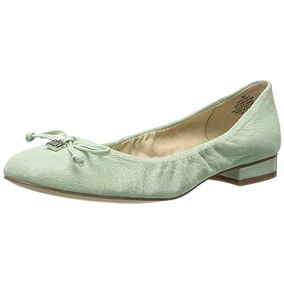 Amazon.com   AK Anne Klein Women's Petrica Reptile-Pattern Ballet Flat   Flats