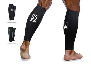 a99082552b2e7 Calf Leg Compression Sleeves by Modetro Sports -Shin Splints, Circulation &  Leg Cramp Compression Support Sleeve - Running ...