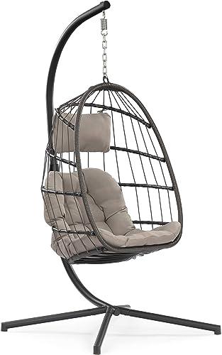 Yechen Egg Chair Aluminum Frame Swing Chair