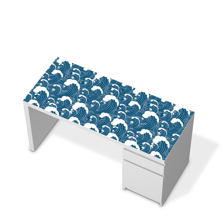 Muebles-Sticker Folie para IKEA malm mesa escritorio | Pegatinas ...