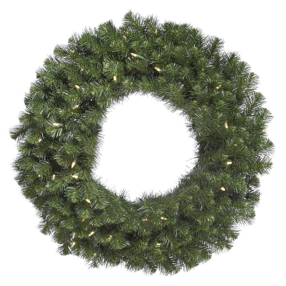 Vickerman 30'' Douglas Fir Wreath with 50 Warm White LED Lights