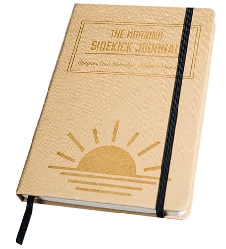 amazon com the morning sidekick journal morning habit tracker