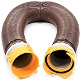 Camco 10ft Revolution Swivel RV Sewer Hose Extension Kit with Swivel Fittings, Extend Your Sewer Hose to Fit Your Needs