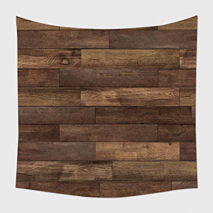 Amazon Home Decor Tapestry Wall Hanging Seamless Wood Floor